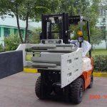 Chiny Wydajne hydrauliczne wózki widłowe Załączniki do ciężarówek Zacisk uniwersalny