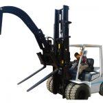 Zacisk do rur hydraulicznego wózka widłowego