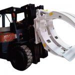 Osprzęt do wózków widłowych Obroty 360 Obrotowe jednoramienne zaciski do papieru
