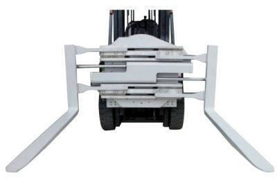 2,2-tonowe antypoślizgowe zaciski wideł do wózków widłowych