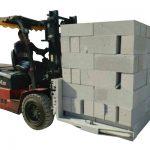Hydrauliczny wózek widłowy Cegły betonowe / Zacisk do podnoszenia bloku