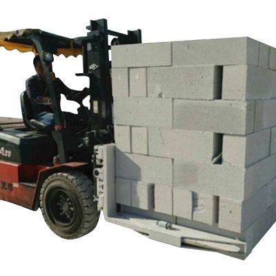 Hydrauliczny wózek widłowy Cegły betonowe Blok do podnoszenia bloku