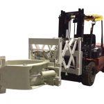 Wózek widłowy Uchwyt do opon Opony teleskopowe