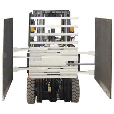 Mocowanie wózka widłowego Zacisk kartonu Klasa 3 i 1220 * 1420 mm Rozmiar ramienia