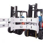 Części do wózków widłowych Osprzęt do wózków widłowych Stalowy rotator Zacisk rolki papieru