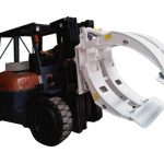 Sprzęt do przenoszenia materiałów Wózek do papieru Zacisk rolki papieru