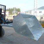 3 tonowy wózek widłowy z łyżką, łyżka hydrauliczna